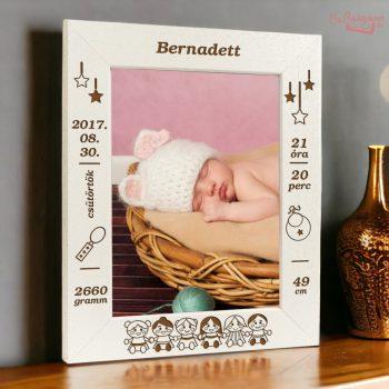 Baba képkeret: babás (álló)