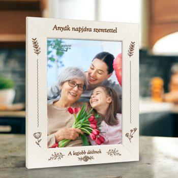 Anyák napi képkeret: A legjobb Anyu (álló)