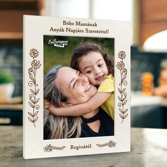 Anyák napi képkeret: Legszebb ajándék (álló)
