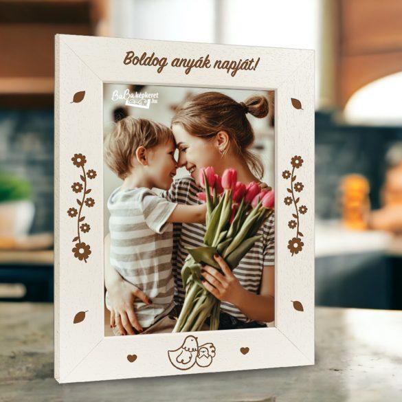 Anyák napi képkeret: Gondoskodás (álló)