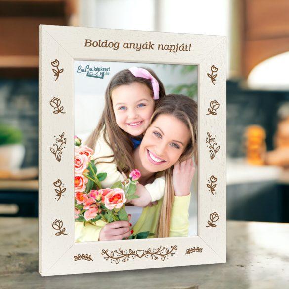 Anyák napi képkeret: Anyai szeretet (álló)