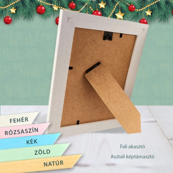 Karácsonyi képkeret : Ünnepi hangulat  (álló)