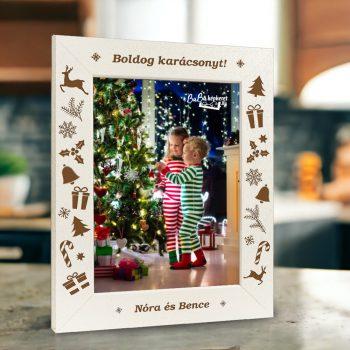 Karácsonyi képkeret : Karácsonyi csodák  (álló)