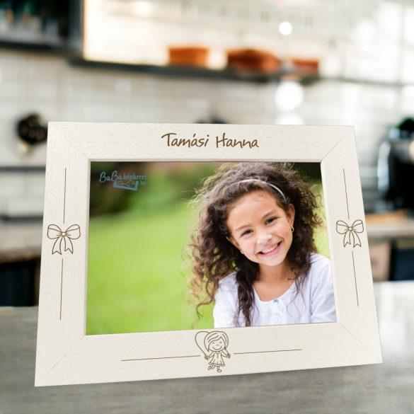 Névre szóló képkeret : ugri-bugri (fekvő)